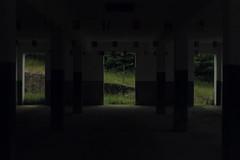 (Gallosdegaraje) Tags: frio tejeda granja lugo castro de rei galicia norte espaa rural aldea puerta piedra campo oscuridad contraluz contraste verde hierba arquitectura espacio luz sombra entrada