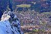 Mittenwald - From Above (cnmark) Tags: germany deutschland mittenwald bayern bavaria karwendel snow outdoors mountans mountain range gebirgskette alpen alps aerial view ©allrightsreserved