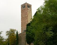 Basilica tower (jglsongs) Tags: torcello island isola venice venezia italy italia basilicadisantamariaassunta tower steeple church chiesa