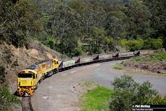 7 October 2016 2320D 2323D empty coal train Ballard (RailWA) Tags: railwa philmelling queensland 2016 2320d 2323d empty coal train ballard