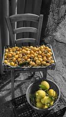 2016 05 08 - Napoli - (104) - Baia (Giovanni.Ciliberti) Tags: 004 napoli bn sedia frutta limoni nespole baia