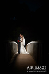 CEL_457.jpg (Air Image) Tags: wedding outdoor night sunset ad600 godox bride groom coombeabbey coventry england backlight bridge