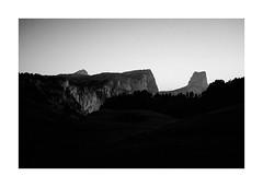 |||| (lemuriendesvilles) Tags: x100t vercors aiguille 35mm bw mountain