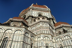 florence duomo in the morning (kexi) Tags: florence firenze florencja italy europe toscany tuscany architecture masterpiece dome old ancient church samsung wb690 october 2015 sky blue duomo basilica cathedral instantfave