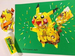 Pikachu Paper Collage | Kitslams Art (Kitslams Art) Tags: instagramapp square squareformat iphoneography uploaded:by=instagram clarendon papercollageart paperart collageart paperpokemon papermario papercollageartist kitslamsart kitslam videogameart videogameartist videogamepixelart pixelart 8bitart 8bitartist nintendoart nintendoartist nintendopixel snesart nesart snes nes marioart marioartwork mariobrosart
