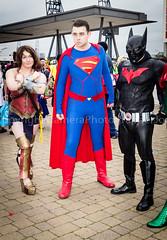 SUPERMAN BATMAN WONDERWOMAN (cameraview4u121) Tags: mcm cosplayer mcmcomiccon mcmcomicconlondon comiccon marvel dc comics superhero entertainment mcmexpo fancydress scifi pose canon games superman batman excel cosplay londonexcel costume mcmldn16 excellondon mcmcc