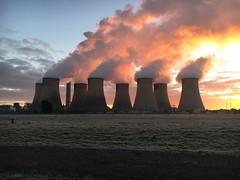 Ratcliffe Power Station (Sam Tait) Tags: redhill marina river soar