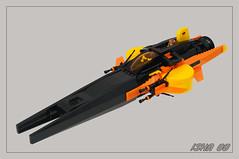Isha VV (01) (F@bz) Tags: lego duplo moc sf space vv vicviper gradius shootemup novvember starfighter
