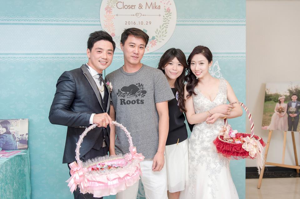 台南婚攝 婚禮紀錄 情定婚宴城堡 C & M 170