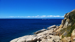 Corsica e nuvole (paletta_7) Tags: isoladelba elba elbaisland tuscany toscana italy tirreniansea mediterraneansea sea seaside summer sky landscape panorama