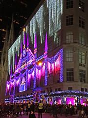 Saks Fifth Avenue Light Display, NYC (MLK6615) Tags: saks fifthavenue christmas nyc