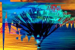 Mar y playa (seguicollar) Tags: mar playa agua olas barco árbol sol paisaje artedigital arte art artecreativo virginiaseguí surrealismo surrealista photomanipulación imagencreativa