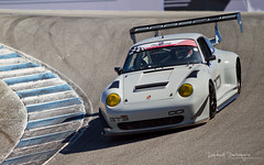 Downforce, anyone? (Raph/D) Tags: kelly moss racing porsche 911 993 rsr gt2 look aero pack prepared race car racer sportscar pca club america usa us united states team motorsport mazda raceway laguna seca california ca monterey corkscrew track sholar friedman cup gentlemen driver competition grey canon eos 7d canoneos7d l series lseries 70200mm ef70200mmf28lusm rennsport reunion v event automobile auto german kmr curb downforce