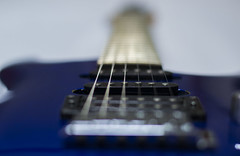 Lead strings (2/52 - Leading lines) (Agath (Sonia)) Tags: guitar ibanez strings nikon nikond3100 50mm18