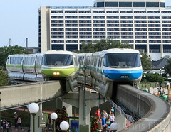 Monorail (cjf3) Tags: transport monorail train disney wdw disneyparks disneytransportationsystem florida orlando