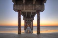 Moments Before Sunrise, St. Johns County Ocean Pier (budrowilson) Tags: canon 5dmarkiii tse24mmf35tiltshift landscape pier stjohnsoceanpier ocean beach hdr photomatixpro5