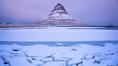 Kirkjufell. (Geinis) Tags: kirkjufell kuldi mountain snfellsnes snow sky sony sonya6000 nature november winter winterscapes landscape white cold ilce6000