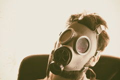 Pop Gas Art (Attilio Frignati) Tags: pop gas gasmask mask popart art selfie portrait canoneos70d canon 50mmf18