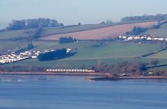 Seament (Stapleton Road) Tags: class70 train freight railway teignmouth river teign
