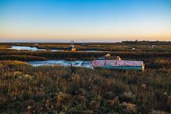 Golden Hour (danjama) Tags: landscape waterscape transport boats goldenhour golden leighonsea essex marsh marshes travel canon6d sigma35mm 35mmart