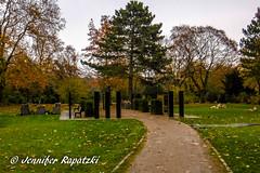 Grabsteine wie Stonehenge (Bernsteindrache7) Tags: autumn sky stone dsseldorf color flora fauna tree garden germany heaven himmel nrw outdoor landscape park panasonic lumix