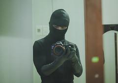 Cat Burglar 4 (CatBurglar Vn) Tags: cat burglar masked glove blaclava robber