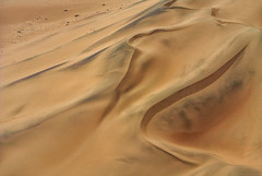 dunes south of Swakopmund, Namibia (me*voilà) Tags: namibia desert dunes sand abstract lines