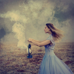 extinguished (brookeshaden) Tags: brookeshaden fineartphotography whimsicalphotography selfportrait