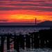 Sunset over the Golden Gate Bridge