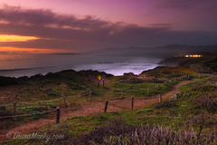 Hiking back from Moonstone Beach (Laura Macky) Tags: moonstonebeach beach ocean cambria sunset landscape california sony