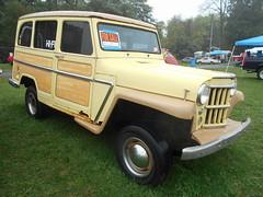 1961 Willys Wagon (splattergraphics) Tags: 1961 willys wagon stationwagon 4x4 suv americanmotors carshow carlisle fallcarlisle carlislepa