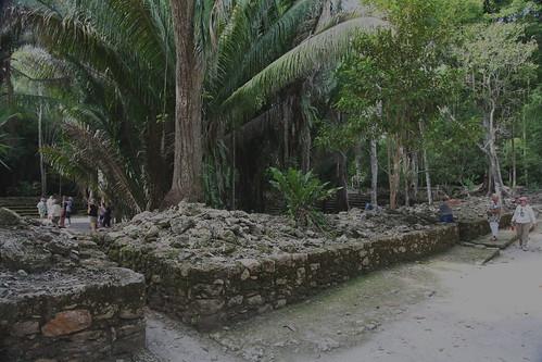 Chacchoben Mayan ruins Q Roo, Mexico.
