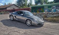Porsche Cayman (Davo_fn) Tags: porsche estacion cayman castillejo