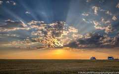 Constantly Changing Light (westrock-bob) Tags: sunset summer sky copyright canada color canon landscape eos evening farm glory wheat awesome farming peaceful ab alberta crop serenity rays agriculture sunray 6d threehills albertatourism canon6d kneehillcounty canoneos6d bobcuthillphotographygmailcom bobcuthill