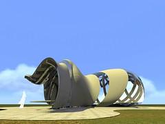 visao_geral_3 (jhanau) Tags: cidade arquitetura urbana grasshopper projeto rhinoceros onibus transporte parada archicad curvas vlt pedestre mobilidade curvo experincia artlantis futurista orgnico paramtrico