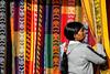 Otavalo textiles (pedro katz) Tags: ecuador mujer otavalo hamacas otavaleña mercadodeponchos ponchosmarket
