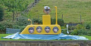 Norland Scarecrow Festival: Yellow Submarine
