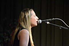 Emily McShane sings