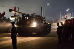 Large caliber tank in Pyongyang (bvoneche) Tags: kp pyongyang coredunord