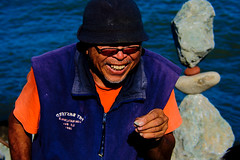 Uma questo de equilbrio (Andr Felipe Carvalho) Tags: sanfrancisco street art dan bill rocks artist streetphotography vida pedras equilbrio billdan salsalito bebalance