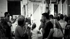 1 + 1 (jjemm) Tags: life street city people en white black 1 zwart wit ijs