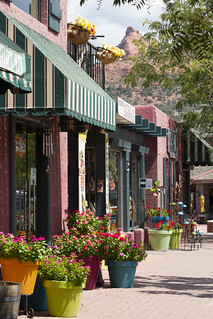Downtown Shopping Sedona