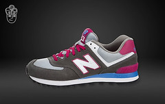 NB WL574CPW Women New Balance 574 Grey White Pink Sneaker (RobertThrashy) Tags: beautiful shopping chic runner runningshoes coupon womensshoes retrostyle popshoes shoppingonline newbalance574 fashionsneakers intrend girlsrunningshoes storediscount