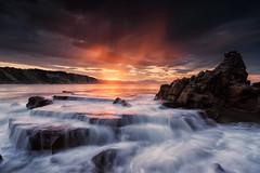 Sunset fall (BIZKAIA) (Jonatan Alonso) Tags: nikon20mm18