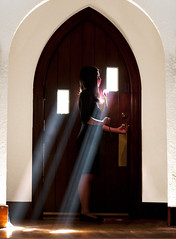 Light My Way (Kevin Casey Fleming) Tags: life lighting door new travel red portrait people woman sun sunlight house flower color cute art love window colors girl beautiful silhouette rose lady composition standing person nice interesting nikon colorful pretty day dress bright vivid surreal sunny beam story vision fantasy photograph balance framing quest sunrays narrative meaningful fanciful d90