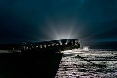 DSC_2193 (velvetgoldmine82) Tags: winter 3 black beach night plane stars iceland dc sand nikon vik wanderlust d750 dc3 wreckage 2015 sólheimasandur