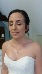 """Bride hair and make-up • <a style=""""font-size:0.8em;"""" href=""""http://www.flickr.com/photos/36560483@N04/23269456763/"""" target=""""_blank"""">View on Flickr</a>"""