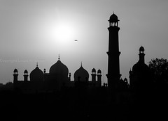 0W6A2466 (Liaqat Ali Vance) Tags: pakistan sunset white black photography google mosque ali punjab lahore vance badshahi liaqat
