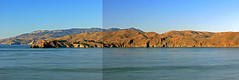Towards the Marin Headlands (JB by the Sea) Tags: ocean sanfrancisco california panorama pacific marin pacificocean landsend goldengate marincounty lincolnpark marinheadlands panoramicview november2015