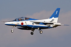 "Japan Air Self Defense Force ""Blue Impulse"" Kawasaki T-4 46-5731 RJFN 04-12-15 (Axel J.) Tags: japan airport outdoor aircraft aviation military jet flughafen airforce flugzeug aeropuerto flugplatz kawasaki avion airfield aviação t4 aviones vliegtuig luftwaffe aviación luftfahrt luchthaven blueimpulse japanairselfdefenseforce rjfn nyutabaruairbase 465731"